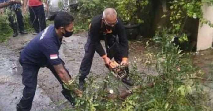 Hadapi Cuaca Ekstrem, BPBD Denpasar Siagakan Empat Pos