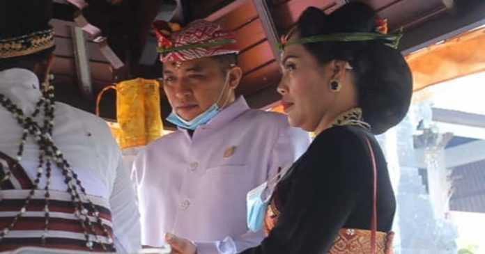Hadiri Pelantikan Ketua DPRD Karangasem, Seluruh Undangan Diuji Cepat Antigen