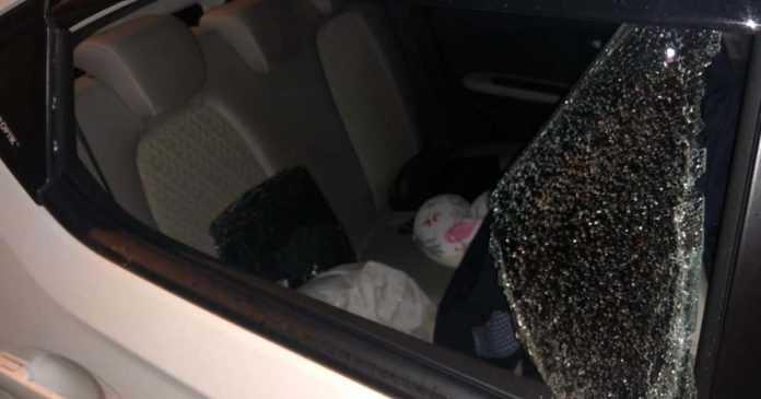Kaca Mobil Dikepruk, Tas dan Dompet Hilang