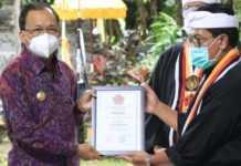 Koster Jabat Dewan Penasehat Utama PPS Kertha Wisesa Bali