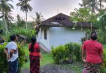 Rumah Janda Kurang Mampu Jebol Diterjang Hujan