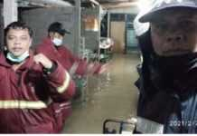Sejumlah Rumah Warga di Jl. Bung Tomo Kebanjiran