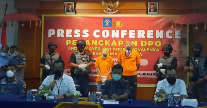 Tim Gabungan Polda dan Imigrasi Ngurah Rai Tangkap Buronan Interpol
