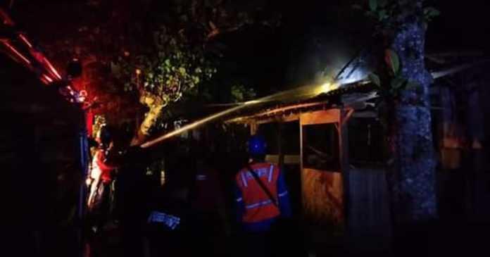 Ditinggal ke Tetangga, Rumah Warga Tuwed Terbakar