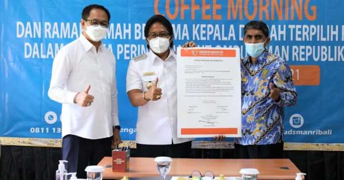 HUT Ke-21 Ombudsman RI, Giri Prasta Paparkan Pelayanan Prima di Badung