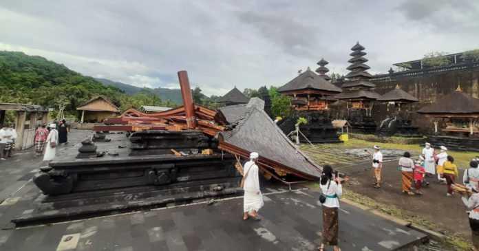 Kerugian Akibat Bencana di Klungkung Capai Rp 1,4 Miliar