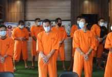 Polres Karangasem Tangkap 10 Pengedar dan Pemakai Narkoba