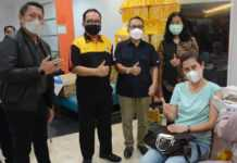 1.100 Pegawai Perbankan Se-Kota Denpasar Divaksin