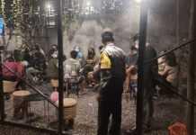 Abaikan Prokes, Pengunjung Angkringan Dibubarkan Satpol PP
