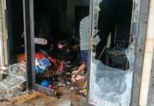 Rumah Sekaligus Toko Terbakar, Kerugian Ratusan Juta Rupiah