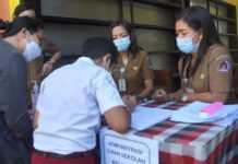 Terkendala Jaringan Internet, Siswa SD di Nusa Penida Ujian Luring