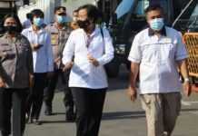 Polda Bali Cek Kebersihan Lingkungan Polres Buleleng