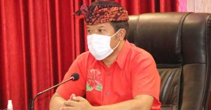 Bupati Bangli Perintahkan Seluruh ASN Sumbang Sembako