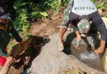 Puluhan Warga Aan Belum Terlayani Air Bersih, TNI Bangun Pompa Hidram