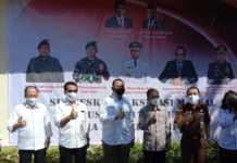 "Vaksinasi ""Door To Door"" Digencarkan, Jokowi Pantau Pelaksanaan di SMAN 5 Denpasar"