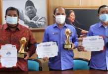 Lagi, Bupati Buleleng Raih Penghargaan TOP Pembina BUMD